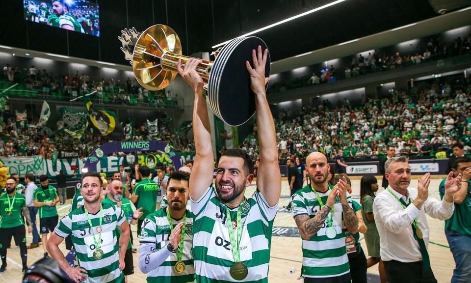Hóquei: depois da glória europeia, Sporting vence no campeonato