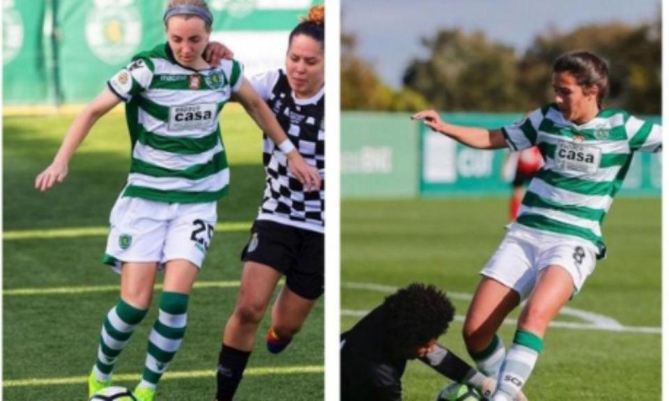 Sporting anuncia mais quatro saídas da equipa feminina
