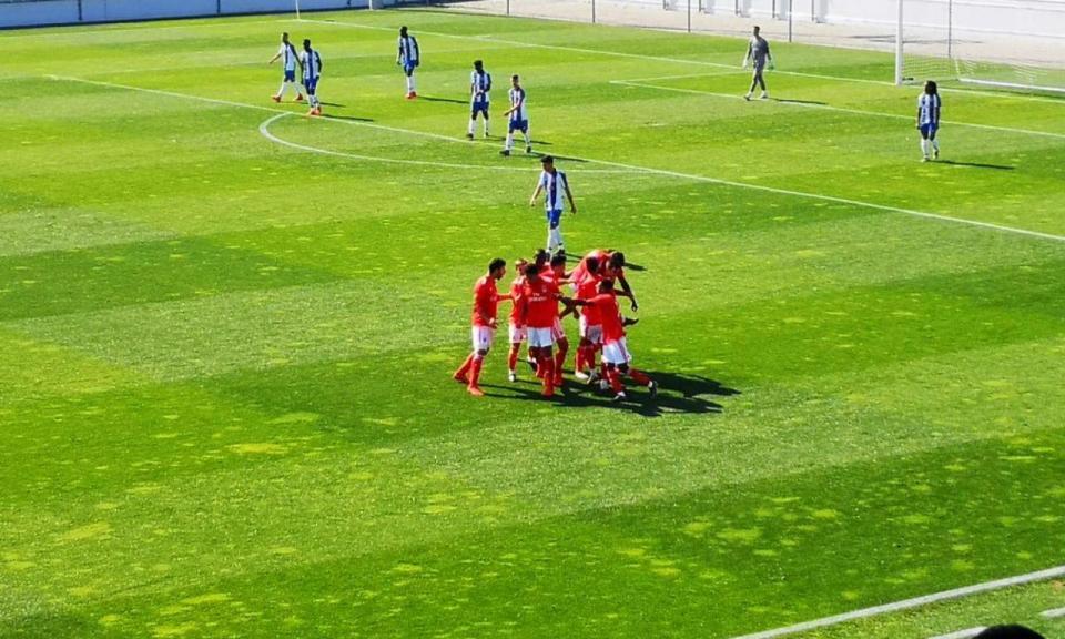 Juniores: Benfica vence no Olival e «rouba» liderança ao FC Porto