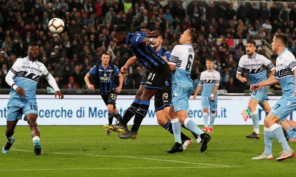 Lazio «abate» Atalanta em oito minutos e conquista Taça de Itália