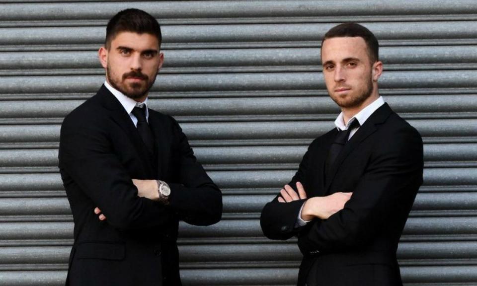 FOTO: agentes Neves e Jota ao serviço do Wolves «007»