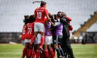 Futebol feminino: Benfica-Valadares Gaia