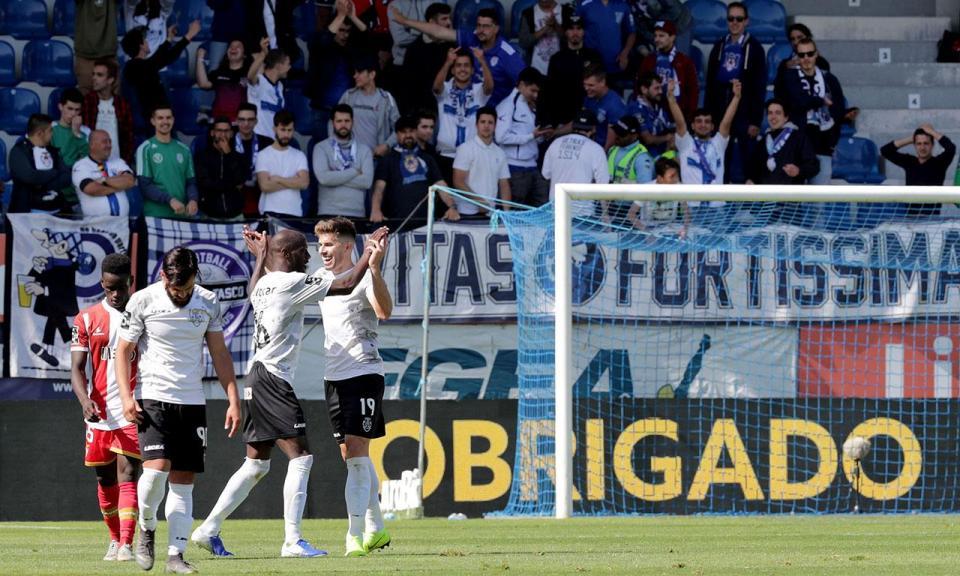 Feirense-Desp. Aves, 2-1 (resultado final)