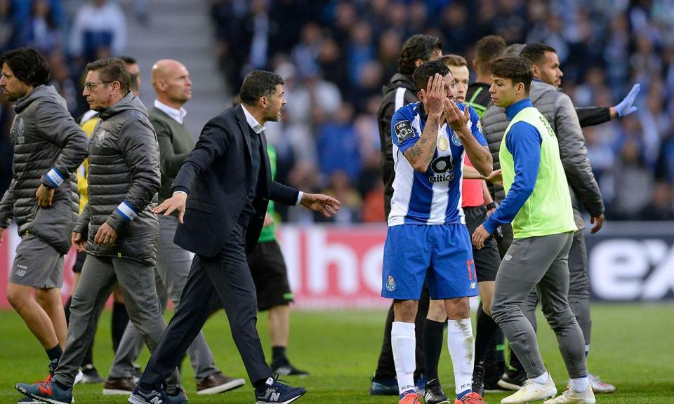 Sérgio Conceição recusou cumprimentar Frederico Varandas na tribuna