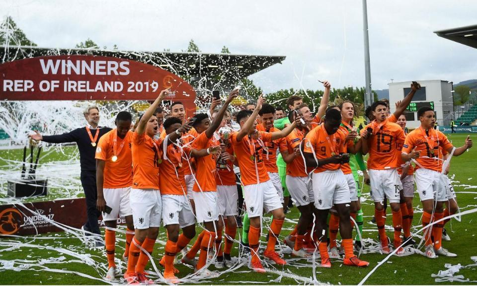 Sub-17: Holanda conquista o título europeu pela quarta vez