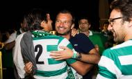 Festa do Sporting após conquistar a Taça (Fotos: Facebook ROOFTOP Bar Mundial)