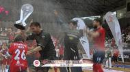 A festa da Oliveirense depois da conquista da Taça de Portugal