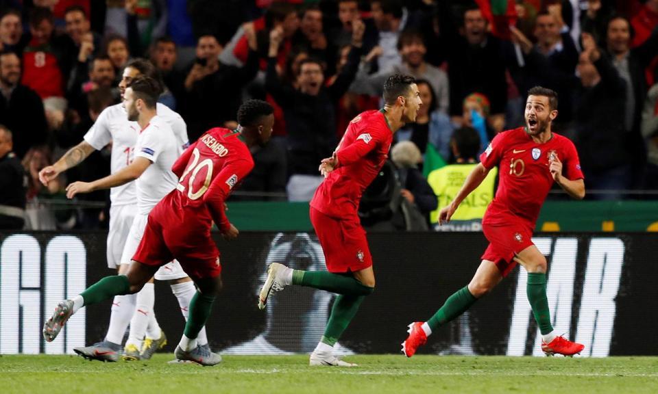 Portugal-Suíça, 3-1 (destaques)