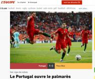 Revista imprensa internacional Liga Nações