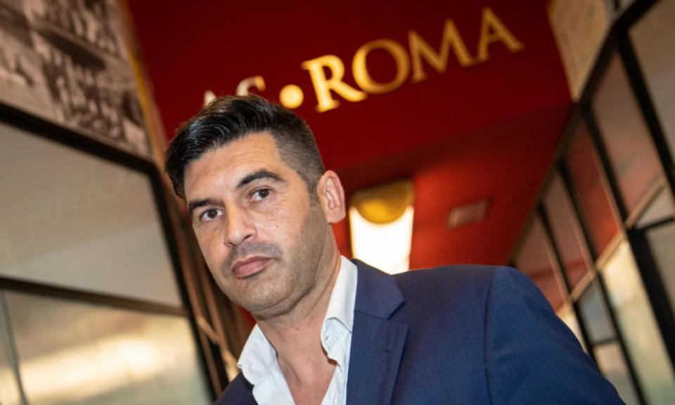 Fonseca em Roma: «Quero um desempenho capaz de empolgar os adeptos»