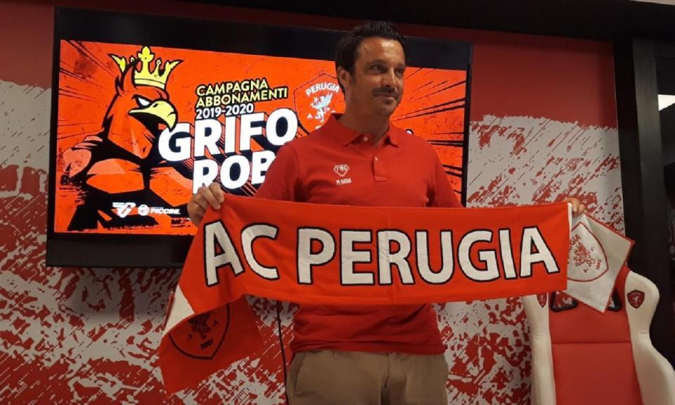 Ex-internacional italiano Massimo Oddo é o novo treinador do Perugia