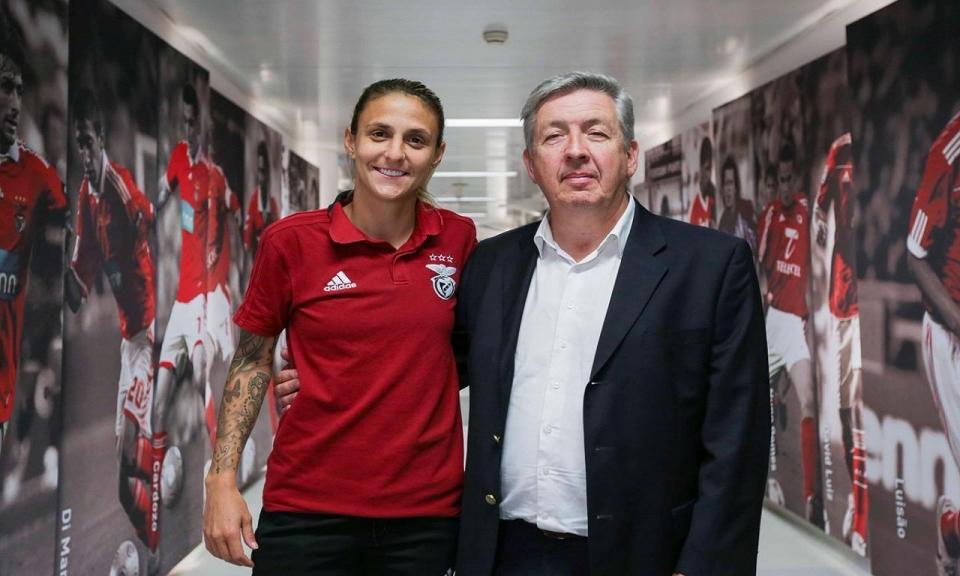 Futebol Feminino: Benfica renova com Darlene