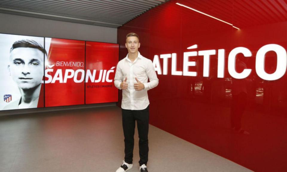 OFICIAL: Saponjic deixa Benfica e assina pelo Atlético Madrid