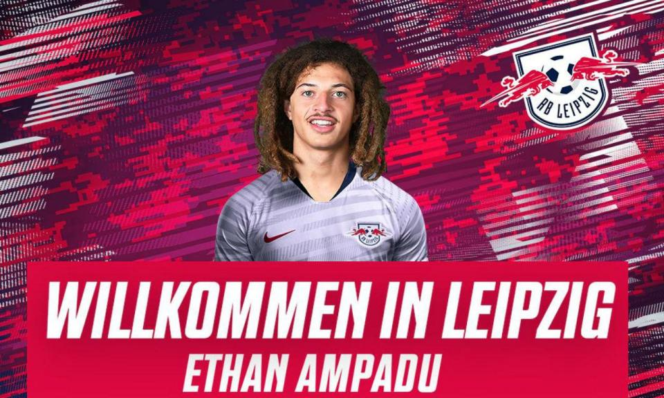 OFICIAL: Chelsea empresta Ampadu ao Leipzig