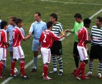 Juniores: Benfica e Sporting empatam 3-3