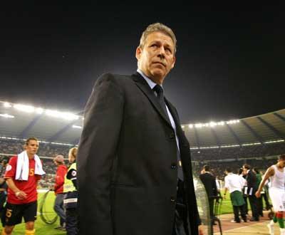 Mundial: seleccionador belga despedido após maus resultados