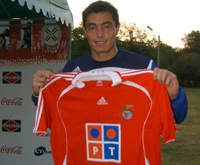 Óscar Cardozo: «O acordo entre Newell's Old Boys e o Benfica está muito próximo»