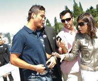 Cristiano Ronaldo sobre Nani: «Oxalá tenha um êxito igual ao meu» (FOTOS)