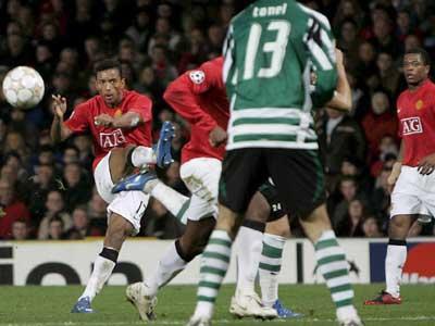 Gilberto (Arsenal) diz que Nani «pode levar um pontapé»