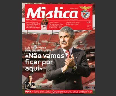 Benfica apresenta «Mística», a nova revista do clube