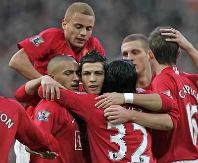 Inglaterra: Ronaldo marca e decide vitória do ManUtd em Derby County