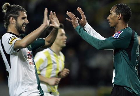 Sporting: Veloso e Patrício sem limitações entre várias baixas