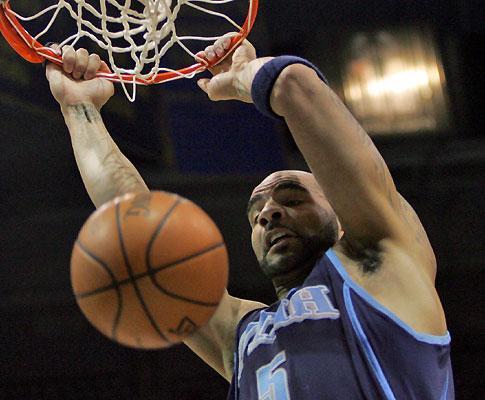 NBA: jogador dos «Nets» detido por «encestar» computador