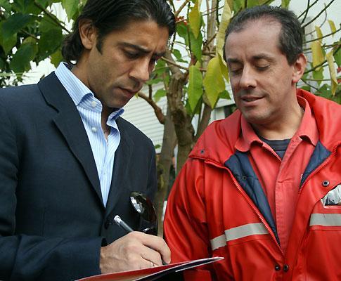 Benfica: Rui Costa junta-se a trio na visita a escola especial