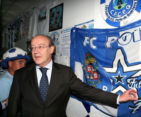 F.C. Porto: Pinto da Costa pode prestar declarações