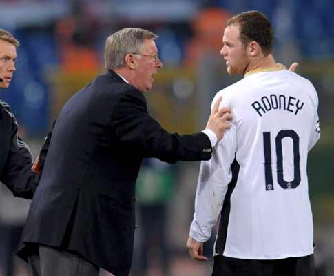 Ferguson: Rooney pode bater o recorde de 42 golos de Ronaldo